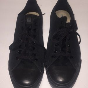 Converse all star chuck Taylor black sneakers 13